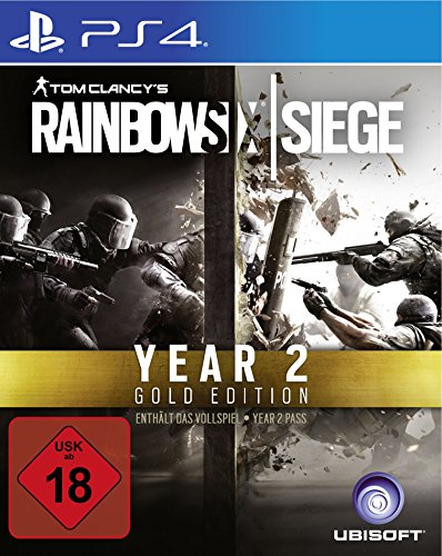 Tom Clancy's Rainbow Six Siege Gold Edition - Season 2 -[Playstation 4]