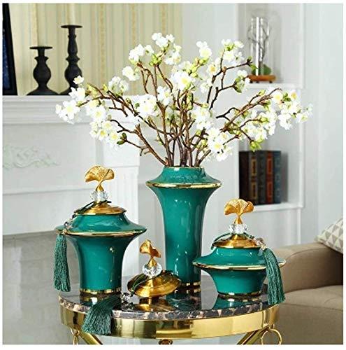 XXY.XXY Pflanzenständer Dekoration Zuhause Wohnzimmer Trockenblumengesteck Set Ornament (Größe: 19,5 & Times; 39cm)