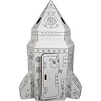 Small Foot 10018 - Casa de cartón con Forma de Cohete