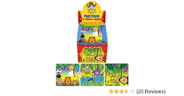 8 tlg für Kinder Kin Set: Mini Puzzle // Minipuzzle 24 Teile Märchen // Tiere