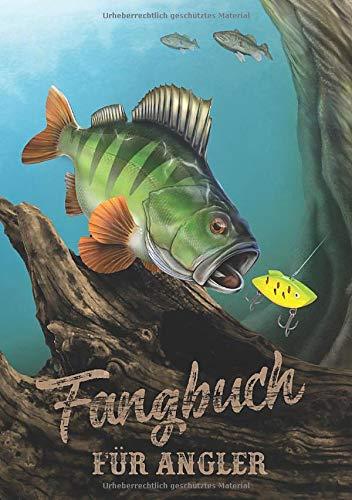 Fangbuch für Angler: Notizbuch für Sportfischer • Meine besten Köder, Fangplätze & Angeltechniken • 110 Seiten • DIN A5 (Design Edition, Band 1) -