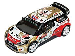 """IXO - Escala 1:43 """"Citroen DS3 WRC Número 4 Rally Monte 2nd Carlo 2014"""" Modelo Coche"""