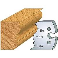 240: Juego de 2 grilletes moldura ht 50 mm, para herramientas entr'plot eje 24 mm
