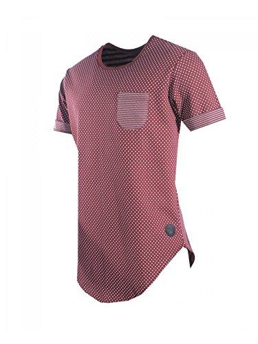 Project X Paris Herren T-Shirt Bordeaux (BR)
