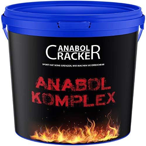 Anabol Komplex Whey Protein Shake, 2,27Kg Vanille Geschmack, Eiweißpulver Molke, Glutamin Aminosäuren Muskelaufbau -