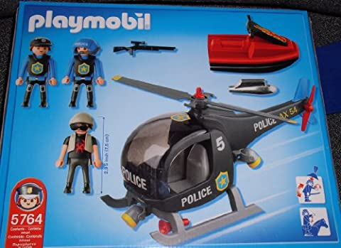 Playmobil - City Action - Police Helicopter & Jet Ski