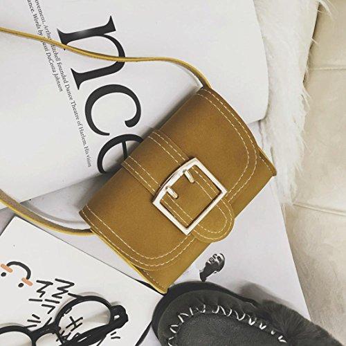 BZLine® Baby Mädchen Jungen Mode Lagerung Crossbody Handtaschen Gelb