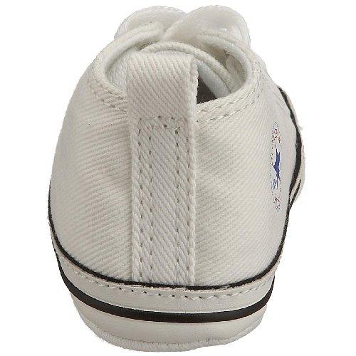 Converse First Star Cvs, Baskets mode mixte bébé Blanc