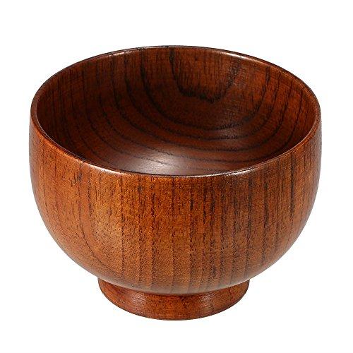 Anself - Cuenco de jabón de madera