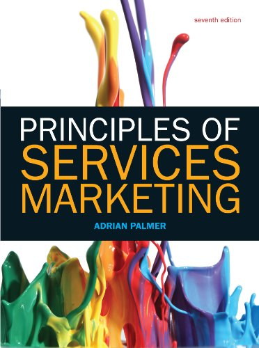 Principles of Services Marketing 7e (UK Higher Education Business Marketing)