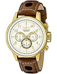 Invicta S1 Rally Analog White Dial Men's Watch - 16011