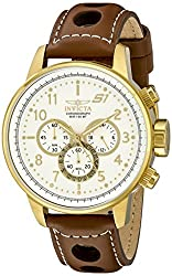 Invicta S1 Rally Analog White Dial Mens Watch - 16011
