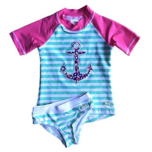Banz Baby Maillot de Bain Anti-UV 2 pièces t-Shirt & Culotte Fille/Enfant