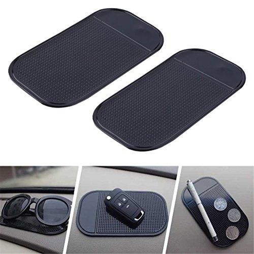 DUBENS (2 Stück) Handy Halterung KFZ Auto Anti-Rutsch-Matte-Pad / Halterung Anti Rutsch Matte /...