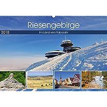 Riesengebirge - Im Land von Rübezahl (Wandkalender 2018 DIN A2 quer): Bilderreise durch das Riesengebirge (Monatskalender, 14 Seiten ) (CALVENDO Orte)