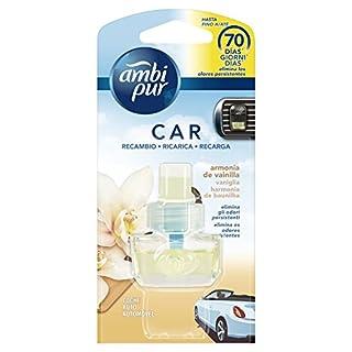 Ambi Pur Parfüm für Auto, Nachfüller ,Harmony Vanilla 1er Pack (1 x 7 ml)