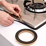 Fayear 3rouleaux de 2mètres de joint anti-poussière et étanche pour évier lavabo de cuisine et salle de bain