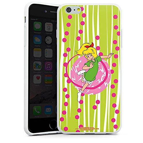 Apple iPhone X Silikon Hülle Case Schutzhülle Bibi Blocksberg Fanartikel Merchandise Hexenspaß Silikon Case weiß