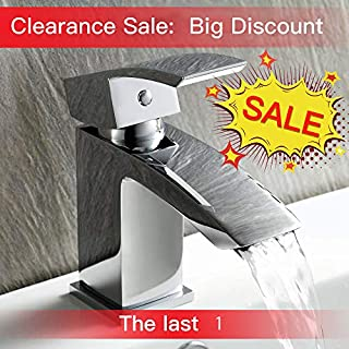 Bathroom Sink Faucet Full Brass Materials Lead-Free Hot and Cold Water Kitchen Mixer Tap UK Standard