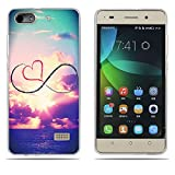 DIKAS Handyhülle für Huawei Honor 4C, Hülle für Huawei G Play Mini, TPU Softcase Silikon Tasche Anti-Scratch Telefon-Kasten Handyhülle Handycover für Huawei Honor 4C / Huawei G Play Mini- Pic: 12
