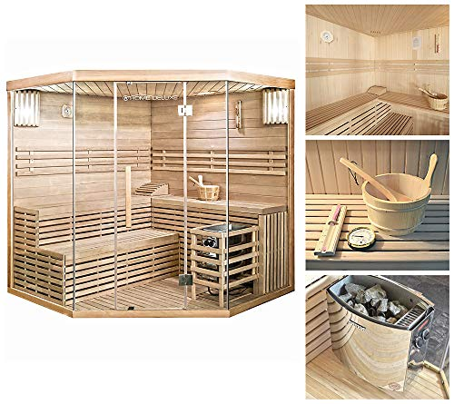 Home Deluxe - Traditionelle Sauna - Skyline XL Big -