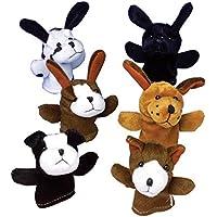 Jouet Toy US 209088 Chien Chien Chien des marionnettes de doigts 0977a3