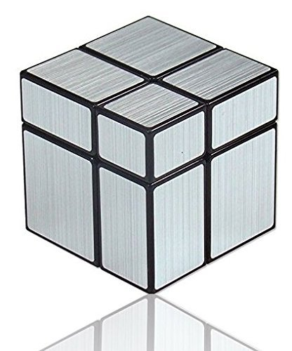 Cubo 2x2x2 Mirror cube 2x2 plateado regalo original LEVEL25