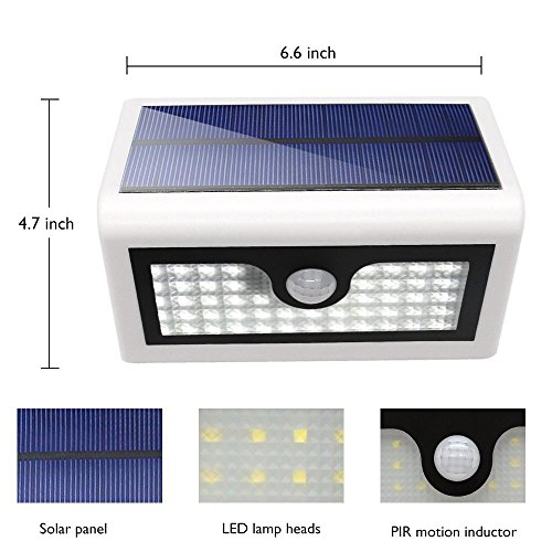 lampe solaire jardin led sans fil 50 led eclairage terrasse sans fil exterie. Black Bedroom Furniture Sets. Home Design Ideas