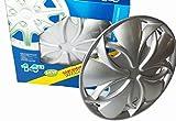 Radkappen Radzierblenden (silber) Set 4 Stück 14 Zoll Premium Qualität!!!
