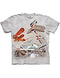 The Mountain Unisexe Enfant Avion Hangar T Shirt