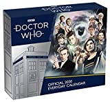 Doctor Who Desk Block 2020 Calendar - Page-a-Day Calendar Format (2020 Desk Block Calendar)