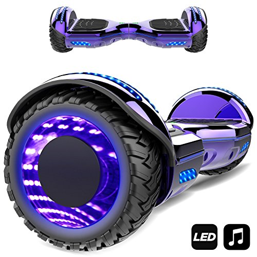 Hoverboard 6.5' con Altavoz Bluetooth, Luces LED, Luces de...
