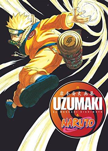 Naruto Artbook Uzumaki: Comics par Masashi Kishimoto