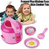 TianranRT LED Melodie Elektro Reis Kocher Pretend Play Küche Spielzeug Haushaltsgeräte Spielzeug Für Kind