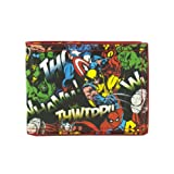 Marvel All Over Print Characters Bi-Fold Wallet