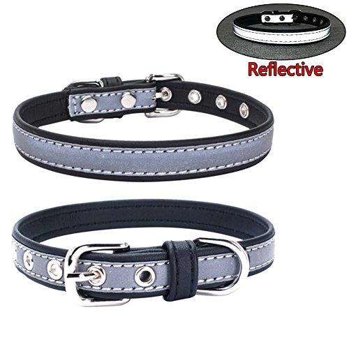dehalsband Reflektierende Welpen Halsbänder für Kleine Hunde Medium Hunde ()