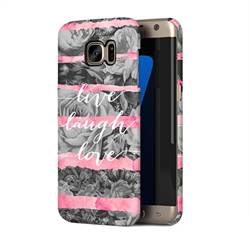 live-laugh-love-pink-watercolor-stripes-rose-blossoms-hard-thin-plastic-phone-case-cover-for-samsung