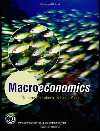 Macroeconomics by Graeme Chamberlin (2006-01-01)