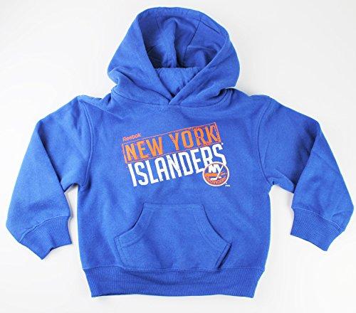 New York Islanders NHL bambini taglia 4–7Basic Team pullover con cappuccio, Uomo ragazza donna Bambino Ragazzi, Blue