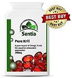 SUPERBA Pure Krill Oil. Premium Quality (UK MANUFACTURED) 100% Satisfaction