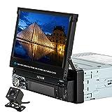 Kkmoon universale 17,8cm touch screen MP5Player auto video multimediale autoradio 9601g BT FM radio contiene GPS con 4LED fotocamera