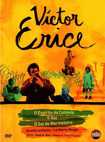 Collección Victor Erice : El sol del membrillo + El espiritu de la colmena + El Sur + Alumbramiento + La morte Rouge + Paris-Madrid 5 DVD Box Set