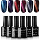 Gellen Cat Eye Gel Nagellack UV Gel Farbgel Led Nagellack 10ml *6PCS 07-6