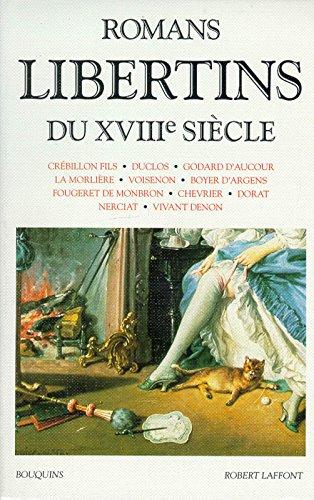 Romans libertins du XVIIIe siècle