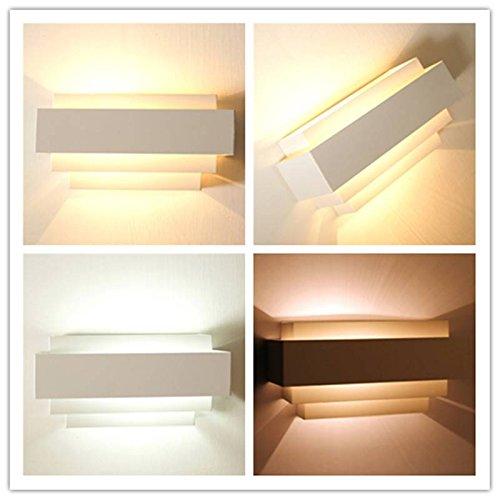 SOLMORE-Moderno-E27-curvo-bulbo-Supporto-della-lampada-da-parete-coperta-up-down-curvato-bianco-lampada-corridoio-scala-per-110V-220V-Bianco