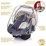 DIAGO Komfort Regenschutz Babyschale - 2