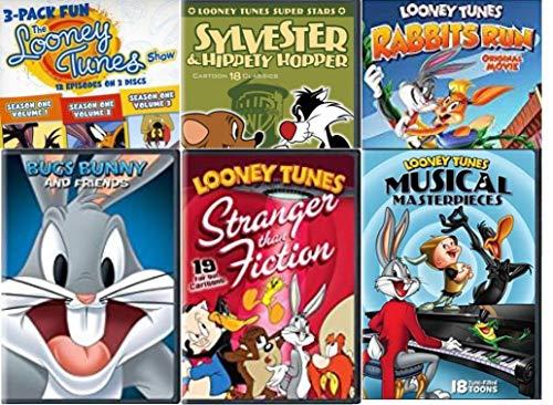 Golden Collection (Looney Tunes Golden Collection 8-Film Mega Pack Looney Tunes Spotlight Collection 8/ Looney Tunes Super Stars: Sylvester & Hippety Hopper - Marsupial Mayhem/ Looney Tunes Show Fun: Season 1 Vol 1, 2&3)