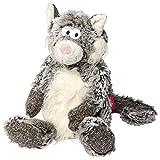 sigikid, Mädchen und Jungen, Stofftier Katze Sweety, Grau, 38468
