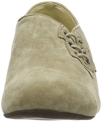 Andrea Conti 3001523, derby a lacets femme Beige - Beige (Beige 003)