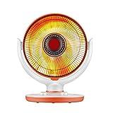 Moolo Riscaldatori elettrici, Home Vertical Fast Heating Risparmio energetico Piccola Stufa al Sole in Fibra di Carbonio Sun (220V, 300-600W)